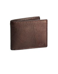 Lauren Ralph Lauren Leather Passcase Wallet Brown