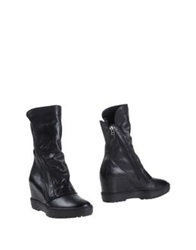 Janet Sport Ankle Boots Black