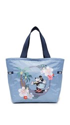 Le Sport Sac Disney X Lesportsac Picture Tote Sing And Sway Blue