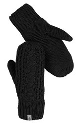 The North Face Women's Cable Knit Mittens Tnf Black