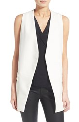 Trouve Women's Trouve 'Compact' Vest White Snow