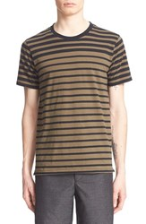 Rag And Bone Men's Rag And Bone Colorblock Cotton T Shirt