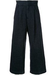 En Route Wide Leg Jeans Black