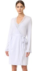 Eberjey Daria Balloon Sleeve Robe Vapor Grey Sky