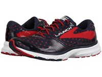 Brooks Launch 3 Peacoat Navy True Red White Women's Running Shoes