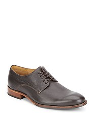 Cole Haan Williams Pebbled Leather Oxfords Seal Brown