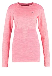 Asics Long Sleeved Top Peach Melba Apricot