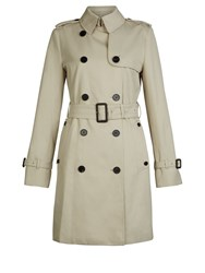 Aquascutum London Franca Double Breasted Coat Beige