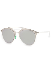 Christian Dior Dior Reflected Mirrored Clubmaster Style Sunglasses