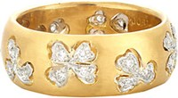 Cathy Waterman Women's Floating Lights Wildflower Ring No Color