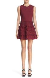 Women's Red Valentino Jersey Fit And Flare Dress