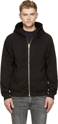 Blk Dnm Black Zip Up Hoodie