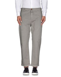Closed Trousers Casual Trousers Men Light Grey