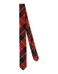 Daniele Alessandrini Homme Accessories Ties Men Red