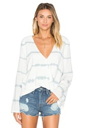 Blue Life Hayley Top White