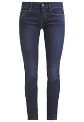 Replay Rose Slim Fit Jeans Blue Dark Blue