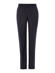 Chester Barrie Plain Tailored Fit Suit Trousers Navy