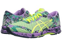 Asics Gel Noosa Tri 11 Patina Green Flash Yellow Violet Women's Running Shoes