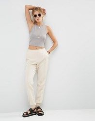 Asos Luxe Tailored Jogger Co Ord Champagne