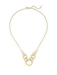 John Hardy Classic Chain 18K Yellow Gold Circle Link Necklace