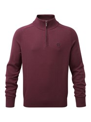 Henri Lloyd Moray Regular Half Zip Knit Port