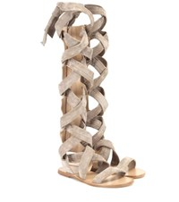 Rag And Bone Ilaria Suede Sandals Grey