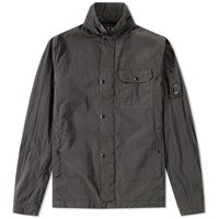 C.P. Company Arm Lens Zip Overshirt Grey