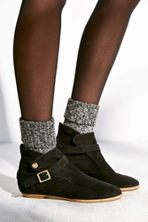 House Of Harlow 1960 House Of Harlow Suede Hollie Boot Black