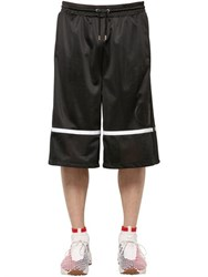 Astrid Andersen Jersey And Mesh Basketball Shorts