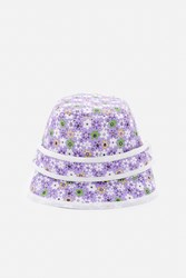 Bernstock Speirs Flower Hat Purple