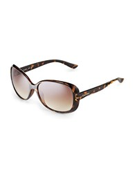 Calvin Klein Oversized Sunglasses Dark Tort