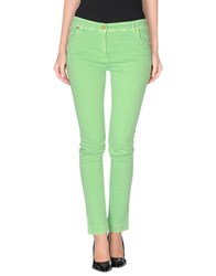 Class Roberto Cavalli Denim Denim Trousers Women Acid Green