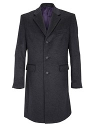 Paul Costelloe Potter Single Breasted Coat Charcoal