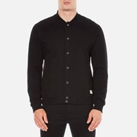 Penfield Men's Massac Bomber Sweatshirt Black