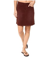 Prana Trista Skirt Dark Umber Women's Skirt Brown