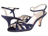 Caparros Heirloom True Blue Satin High Heels