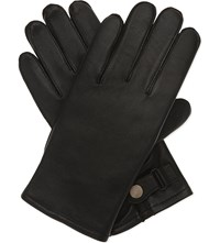 Sandro H16 Classic Leather Gloves Black