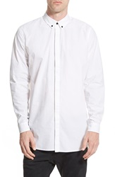 Tavik 'Noir' Long Sleeve Shirt White