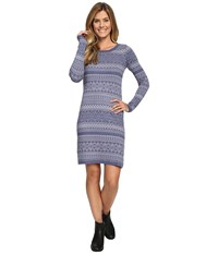 Aventura Clothing Clara Dress Blue Indigo Silver Sconce Women's Dress