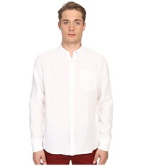 Billy Reid Johnathon Shirt White Men's Clothing