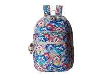 Kipling Seoul Backpack With Laptop Protection In Bloom Backpack Bags Gray