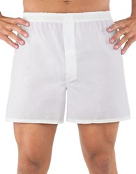 Jockey 4 Pack Stay New Full Cut Boxers White