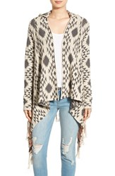 Rip Curl Women's 'Desert Nights' Jacquard Hooded Cardigan
