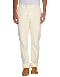 Hackett Casual Pants Ivory