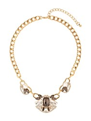 Mikey Inca Crystal Pendant Necklace