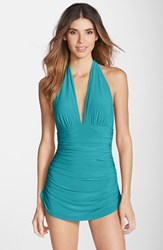 Women's Magicsuit 'Yvonne' Halter One Piece Swimsuit Jade Green