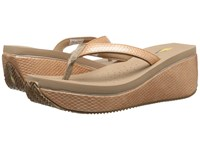 Volatile Digs Tan Women's Wedge Shoes