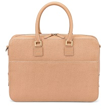 Aspinal Of London Mount Street Small Saffiano Leather Tech Bag Deer