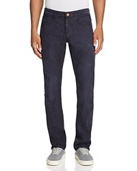Psycho Bunny Thompson Corduroy Five Pocket Slim Fit Pants Navy