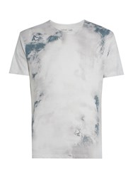 Label Lab Palm Haze Graphic Tee Off White